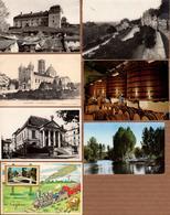 Lot De 7 CPA, CPSM & CM Sur Les Charentes - Cognac, Angoulême, Chalais, Chateauneuf, Ruffec, Hennessy, - France