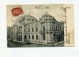 Russia 1904 Railway Van  Warszawa - Alexandrov To France. Kalisz On Postcard - Covers & Documents