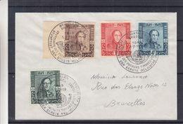 Belgique - Lettre De 1949 - Oblit Bruxelles - Exp Vers Bruxelles - U.P.U. - Centenaire Du Timbre - Valeur 44 Euros - Belgio