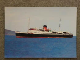 ISLE OF MAN STEAM PACKET TYNWALD - DIXON CARD - Ferries
