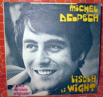 """MICHEL DELPECH L'ISOLA DI WIGHT AUCUN VINYLE  COVER NO VINYL 45 GIRI - 7"""" - Accessori & Bustine"""