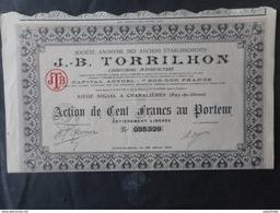 Jb TORRILHON           Caoutcchouc               Chamallieres          MICHELIN - Actions & Titres
