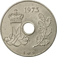 Monnaie, Danemark, Margrethe II, 25 Öre, 1973, Copenhagen, TTB, Copper-nickel - Dänemark