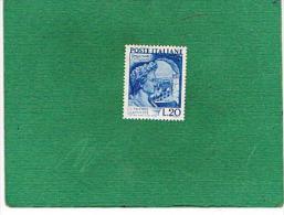 ITALIA REPUBBLICA -  UNIF. 614 - 1949 GAIO VALERIO CATULLO    - NUOVI ** (MINT) - 6. 1946-.. Republic