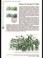 2016, DOCUMENT OFFICIEL DE LA POSTE: Maquis Du Barrage De L'Aigle - Documents De La Poste