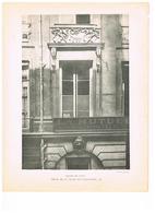 D75. PARIS.MAISON DE LULLY. RUE SAINTE ANNE 45 ET RUE DES PETITS CHAMPS 45 - Documentos Antiguos
