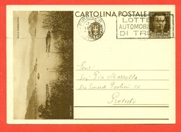 INTERI POSTALI I-CARTOLINE POSTALI-C90/9 - ISOLE BORROMEE - DA FIRENZE PER GROSSETO - 1900-44 Vittorio Emanuele III