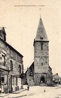 CPA -   BELLOU  EN  HOULME  (61)   L' Eglise - France
