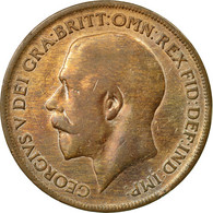 Monnaie, Grande-Bretagne, George V, Penny, 1920, TB+, Bronze, KM:810 - 1971-… : Monnaies Décimales