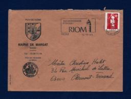 Francia - Sobre Circulado  (año 1993) - Marcofilia (sobres)