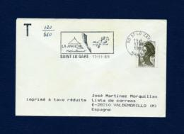 Francia - Sobre Circulado  (año 1989) - Marcofilia (sobres)