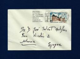 Francia - Sobre Circulado  (año 1969) - Marcofilia (sobres)