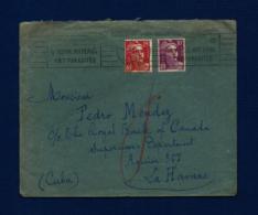 Francia - Sobre Circulado  (año 1950) - Marcofilia (sobres)