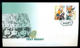 Australia 1999 100 Years Of Test Rugby P&S,Sydney FDC Lot52570 - 1990-99 Elizabeth II