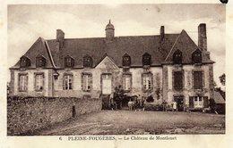 CPA -   PLEINE  - FOUGERES  (35)   Le Chateau De Montlouet - France