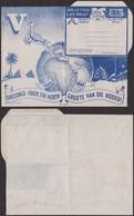 Afrique Du Sud 1945 - Lettre Air Mail Publicitaire Noêl - Guerre 40-45- Thématique Pyramides (3G23468) DC0044 - Stamps