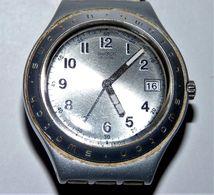 BELLE MONTRE FEMME SWISS SWATCH IRONY ALUMINIUM AVEC DATEUR BE FONCTIONNE - Watches: Modern
