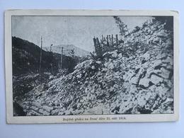 Nago-Torbole Prima Guerra  Doss Alto Di Nago 1918 - Trento