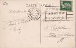 FRANCE  1933 CARTE POSTALE DE LYON-TERREAUX - 1921-1960: Modern Period