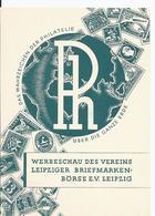 Dt.- Reich (000989) Ganzsache Fech PP106 D1I/ 01, Leipzig Briefmarken Werbeschau, Das Wahrzeichen Der Philatelie - Ganzsachen
