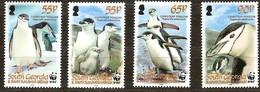 South Georgia 2008 Yvertn° 441-444 Mi 454-457 *** MNH Faune WWF Pinguins - Falkland