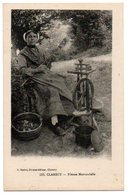 58 - Nièvre /  CLAMECY -- Fileuse Morvandelle. - Clamecy
