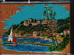 Peinture Sur Liège Inaltérable - L'Embarcadère - Cartes Postales