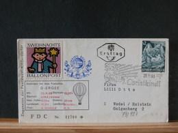 79/929 DOC.  AUTRICHE BALLONPOST + VIGNETTE - Montgolfières