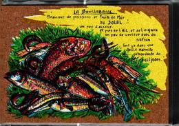 Peinture Sur Liège Inaltérable - La Bouillabaisse - Cartes Postales