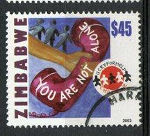 Zimbabwe 2002 $45.00 Telephone Issue  #916 - Zimbabwe (1980-...)