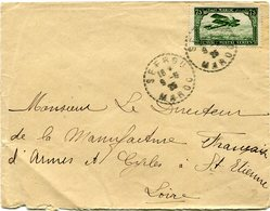 MAROC LETTRE DEPART SEFROU 9-5-25 MAROC POUR LA FRANCE - Maroc (1891-1956)