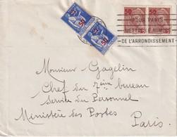 FRANCE LETTRE DE PARIS - Postmark Collection (Covers)