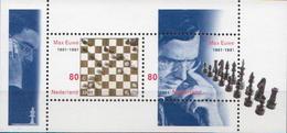 Netherlands MNH SS - Chess