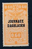 BELGIE - OBP Nr DA/JO 22A - Dagbladen/Journaux - MNH**  - Cote 14,00 € - (ref. 24.775) - Journaux