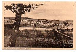 58 - Nièvre / Vue Générale De MONTSAUCHE. - Montsauche Les Settons