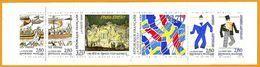 """France**LUXE Carnet 1994 N° BC2872, Neuf Et Non Plié """"Relation Culturelles France-Suède"""", 6 Timbres P 2866 à 2871 Vf 2,8 - Gedenkmarken"""