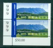 Australia 2002 International $1 Mt Roland Reprint Pair 3K MUH Lot27385 - Ongebruikt