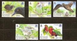 Pitcairn Islands 2011 Yvertn° 755-759 *** MNH Cote 19 Euro Faune Oiseaux Vogels Birds - Pitcairn Islands