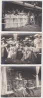 Lot De 21 Photos Datées 1904/1905 Intitulées Mademoiselle Plantey (voir Général Plantey) - Photos
