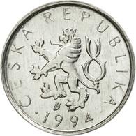 Monnaie, République Tchèque, 10 Haleru, 1994, TTB, Aluminium, KM:6 - Tchéquie