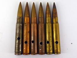 Lot 3 De Cartouches 7.92 Mauser Allemandes WW2 - Neutralisées - 1939-45