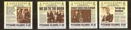 Pitcairn Islands 2013 Yvertn° 806-809 *** MNH Cote 21,00 Euro John F. Kennedy - Timbres