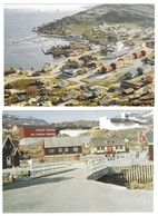 4 Cartes Postales Neuves .  1982 . - Groenland