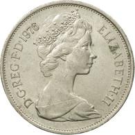 Monnaie, Grande-Bretagne, Elizabeth II, 10 New Pence, 1976, TB, Copper-nickel - 1971-… : Monnaies Décimales
