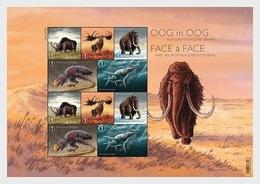 België / Belgium - Postfris / MNH - Sheet Prehistorische Dieren 2018 - Ungebraucht