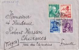 SUISSE 1933 LETTRE DE BALE - Lettres & Documents