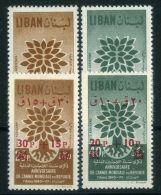 LIBAN ( AERIEN ) : Y&T N°  191/192 + 205/206  TIMBRES  NEUFS  SANS  TRACE  DE  CHARNIERE . - Libanon