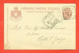 INTERI POSTALI I-CARTOLINE POSTALI SERVIZIO -S7/98-CAMERA DEPUTATI-DA ROMA PER PORTO SAN GIORGIO - 1900-44 Vittorio Emanuele III
