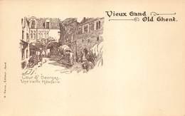 Gent Gand  Vieux Gand Old Ghent  Cour St Georges  Une Vieille Hotellerie     I 4011 - Gent