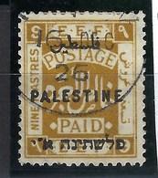 Colonie Anglaise, Palestine Anglaise, N° 60 Oblitéré - Palestine
